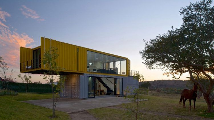 House Made Out Of Shipping Containers countryside houses made from shipping containers | shipping