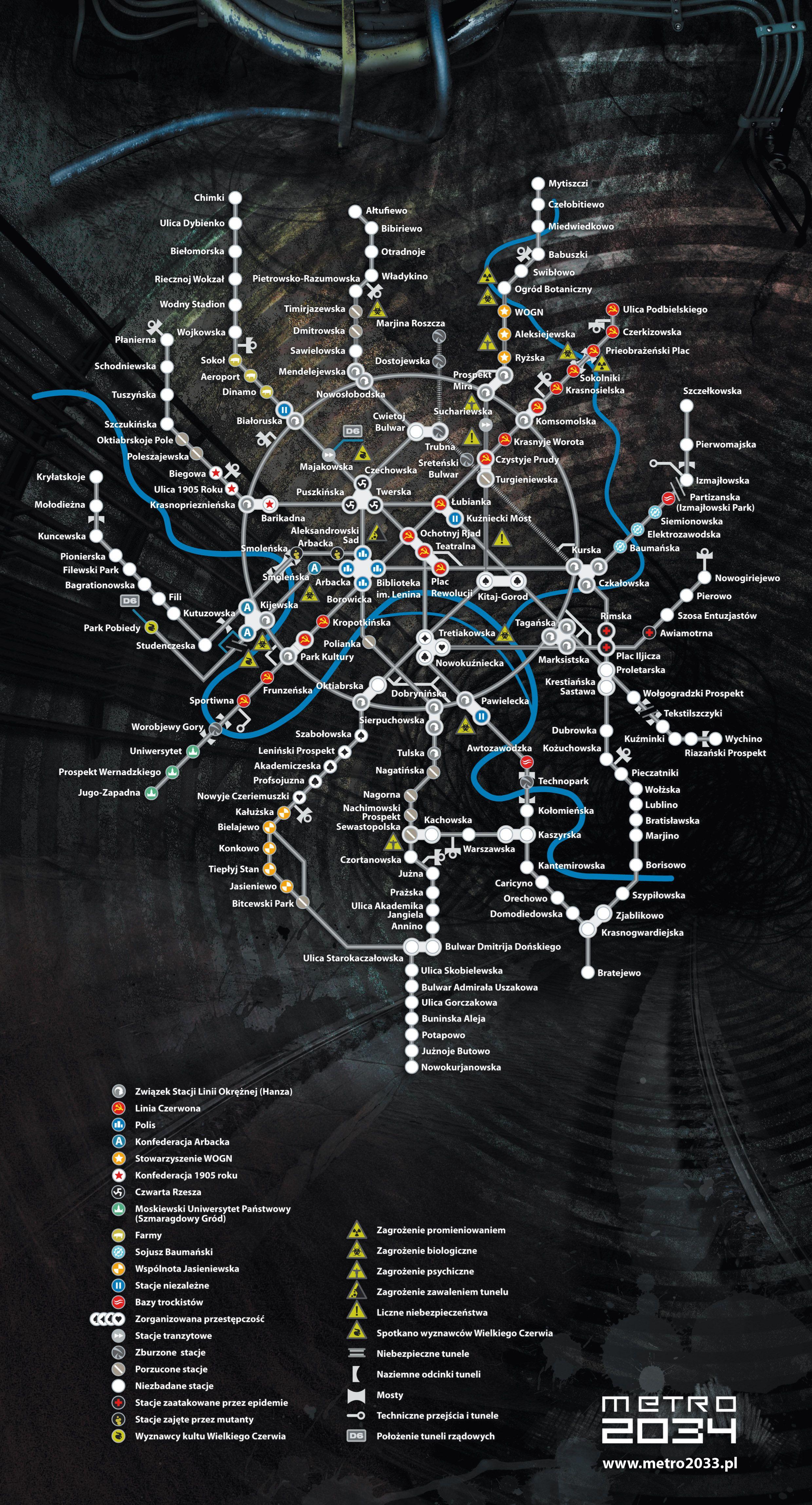 Cyberpunk 2077 Subway Map.Metro 2034 Plano Metro Metro 2033 Metro Last Light Post