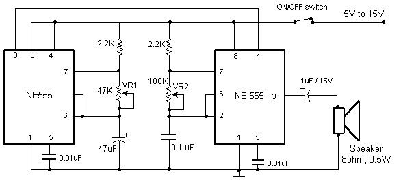 Beeper Sound Electronics Circuit Circuit Diagram Electronic Schematics