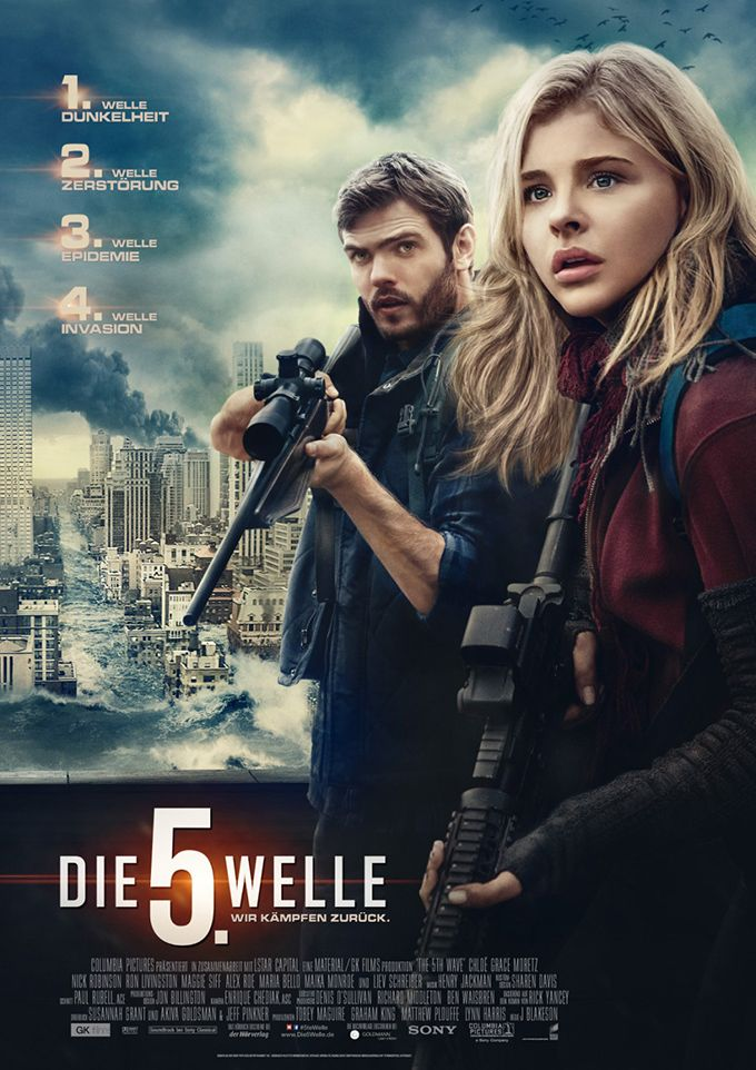 The 5th Wave (2016) Poster | Movie Posters | Pinterest | Chloe ...