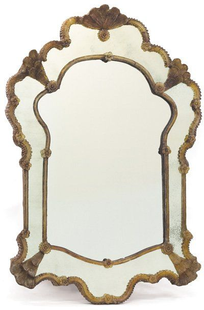 Rendevous Bella Antique Mirror - X-54611-HOG 745