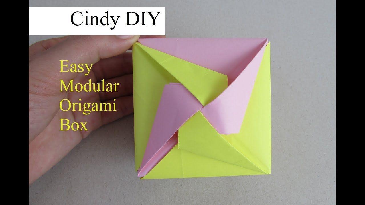 Modular Origami Box Tutorial Part 2 Michaelieclark Boxes Tomoko Fuse S Paper Craft Idea Cindy Diy The Video In