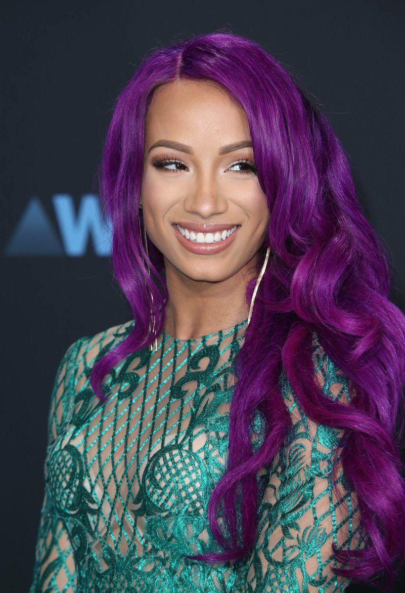 Pin By Lovely Drea On Sasha Banks In 2020 Alternative Fashion Outfits Arctic Fox Hair Color Sasha Bank