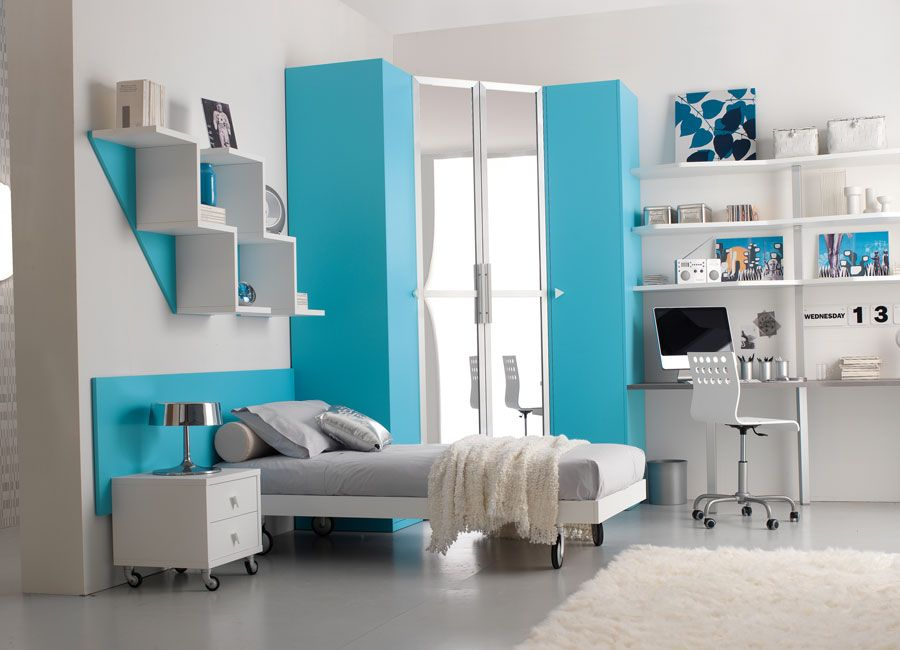 1000 Images About Girls Blue Bedroom On Pinterest Furniture Bookshelf Ideas  And Bedroom Furniture   Bedroom Ideas Blue. Blue Wall Bedroom Decorating Ideas Makipera  pureprocesssystems com