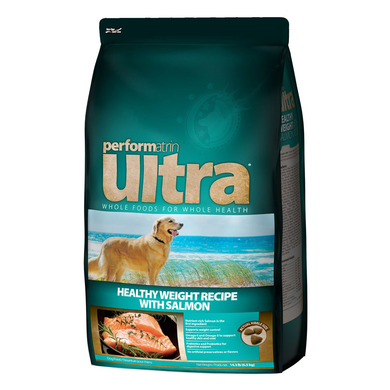 Performatrin ultra healthy weight with salmon recipe dog