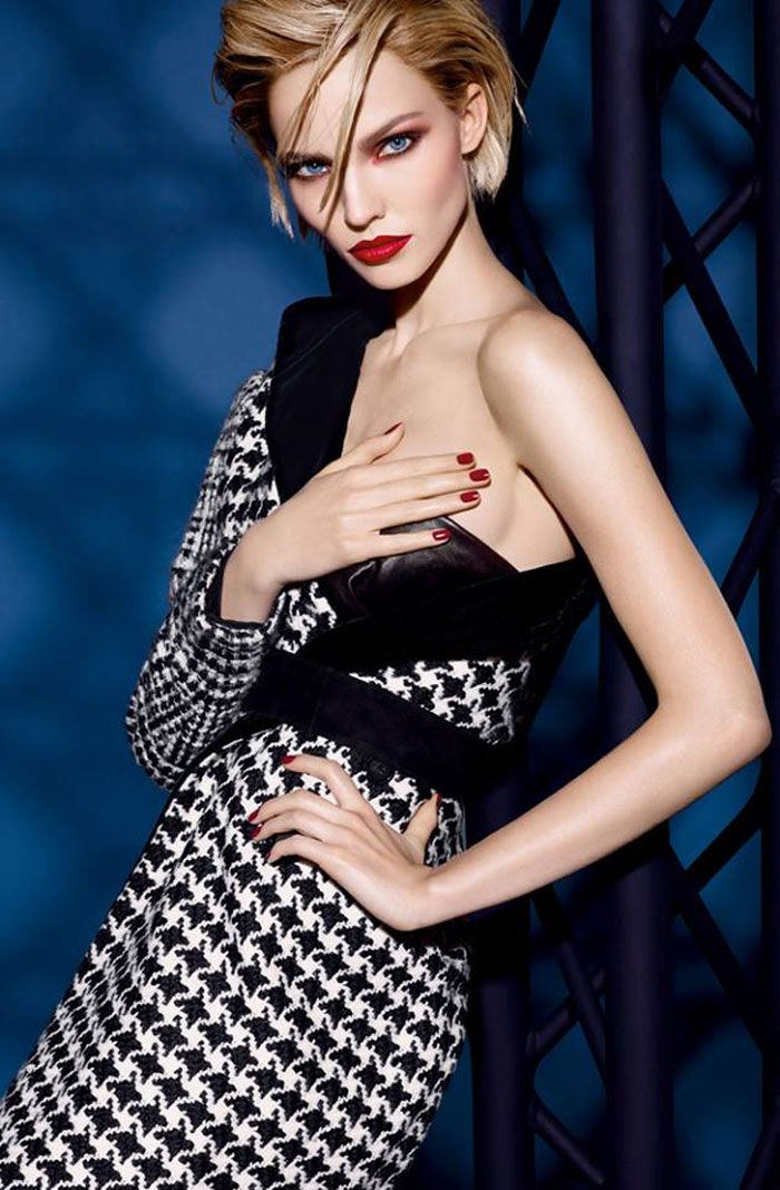 Sasha Luss for Dior Cosmetics New Campaign   FashionMention