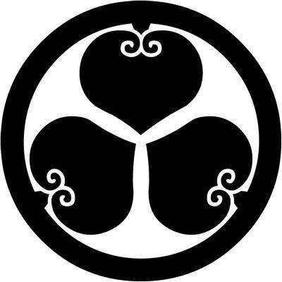 Maru Ni Mitsuura Aoi Logo Pinterest Symbols And Logos