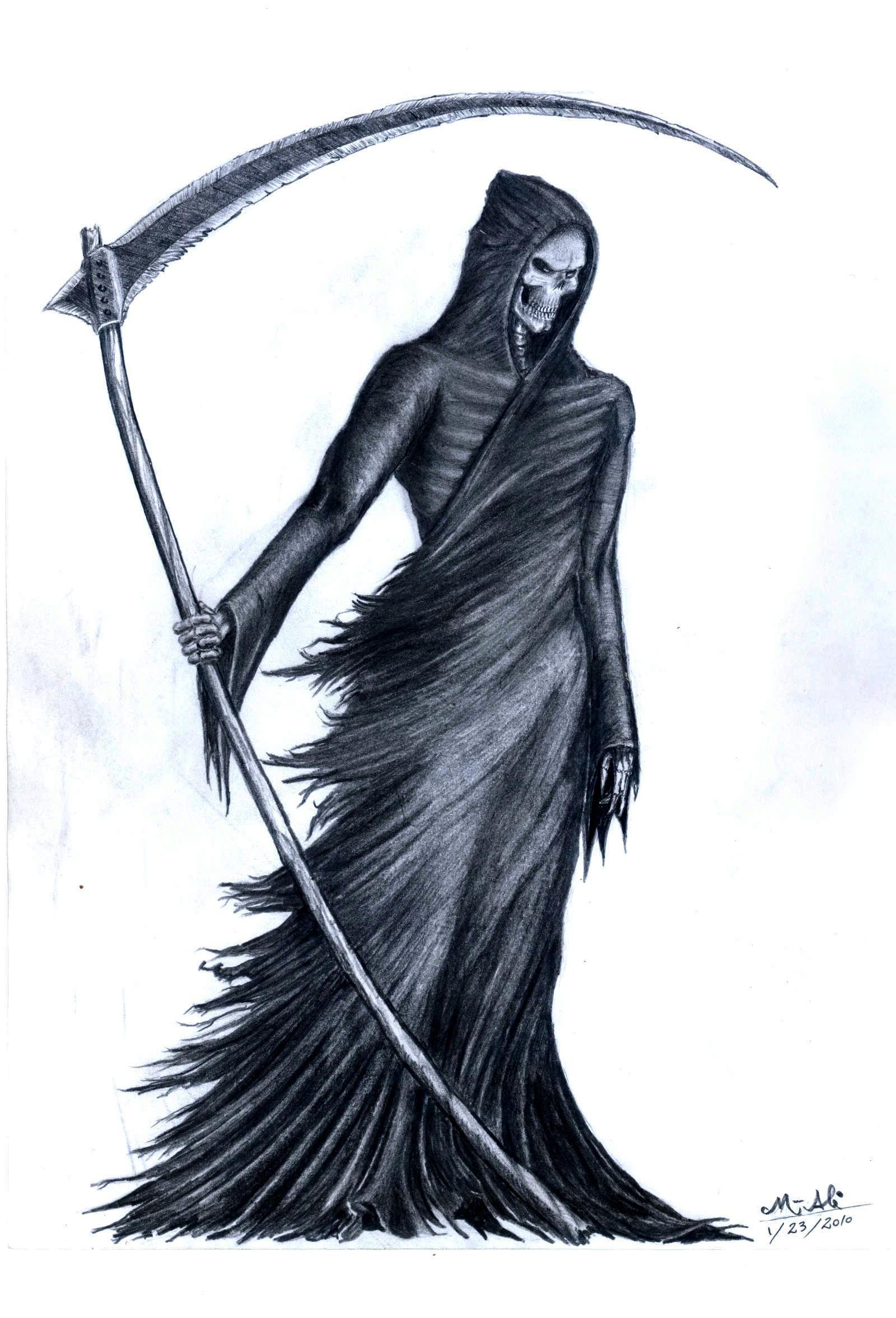 Grim Reaper By Grimshady Deviantart Com On Deviantart Grim