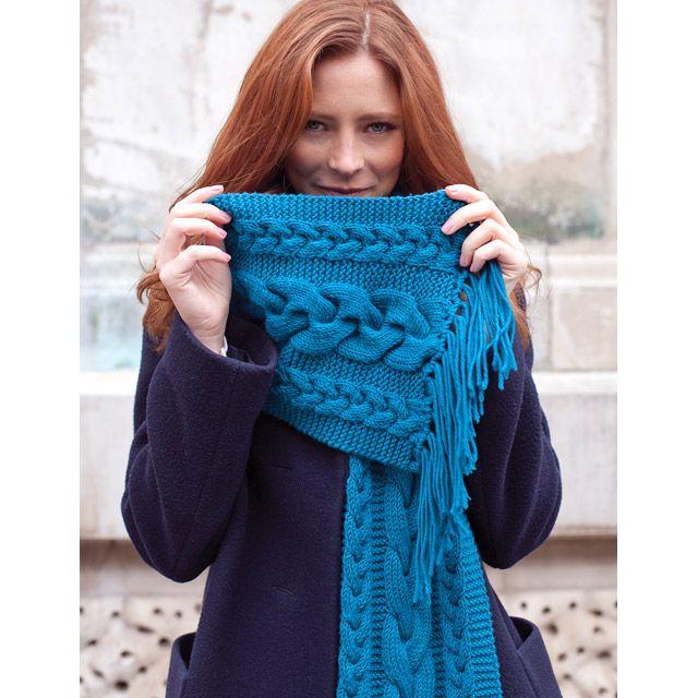 Annette Bufanda: MillaMia moderna Knitting Diseño | Bufandas ...