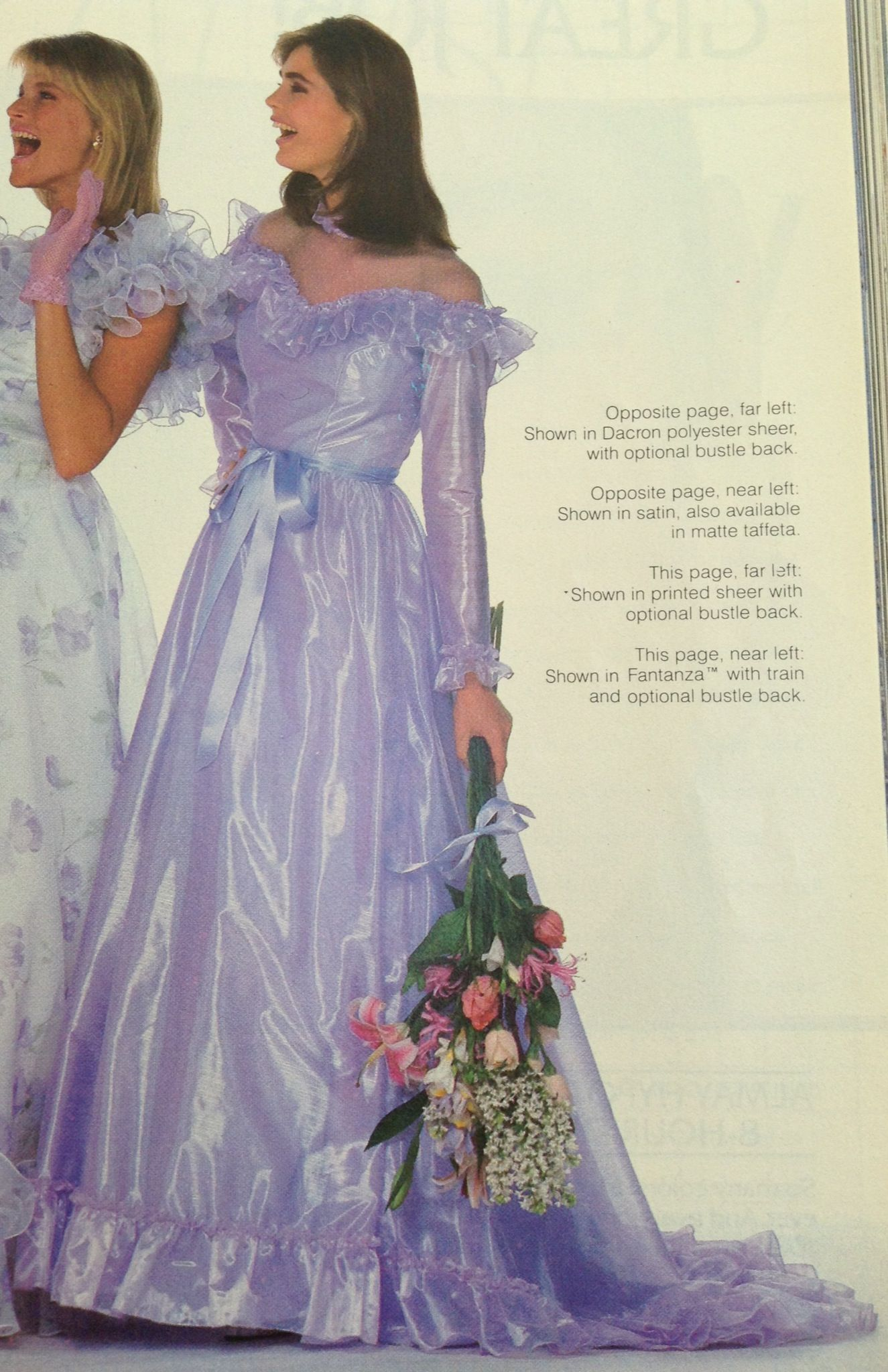 Bridesmaid Prom Gown Made Of Finest Fantanza Bridesmaid Dresses 80s Prom Dress Costume Dresses [ 2048 x 1325 Pixel ]