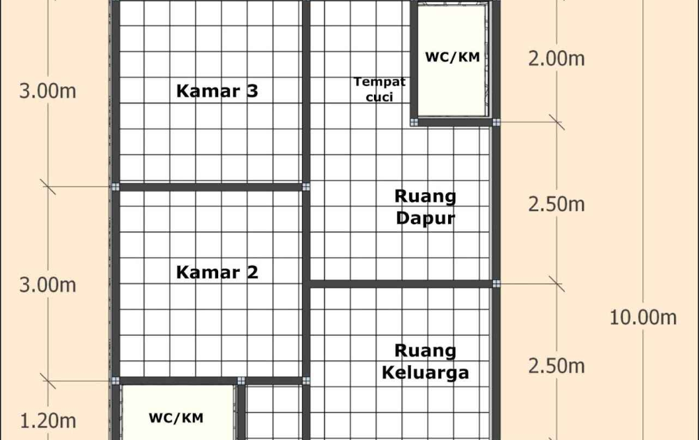 Pin On Sovremennyj Dizajn Interera Gambar Denah Rumah Minimalis Ukuran 6x10 Terbaru Denah Rekomendasi Gambar Denah Rumah Minimalis Denah Rumah Desain Rumah