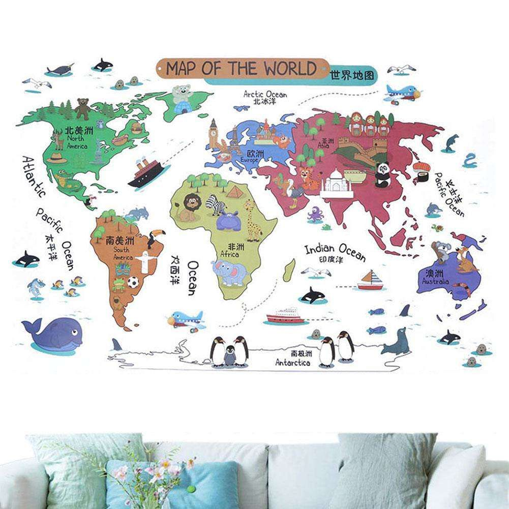 77 world map for kids room wall decor ideas for bedroom check 77 world map for kids room wall decor ideas for bedroom check more at gumiabroncs Choice Image
