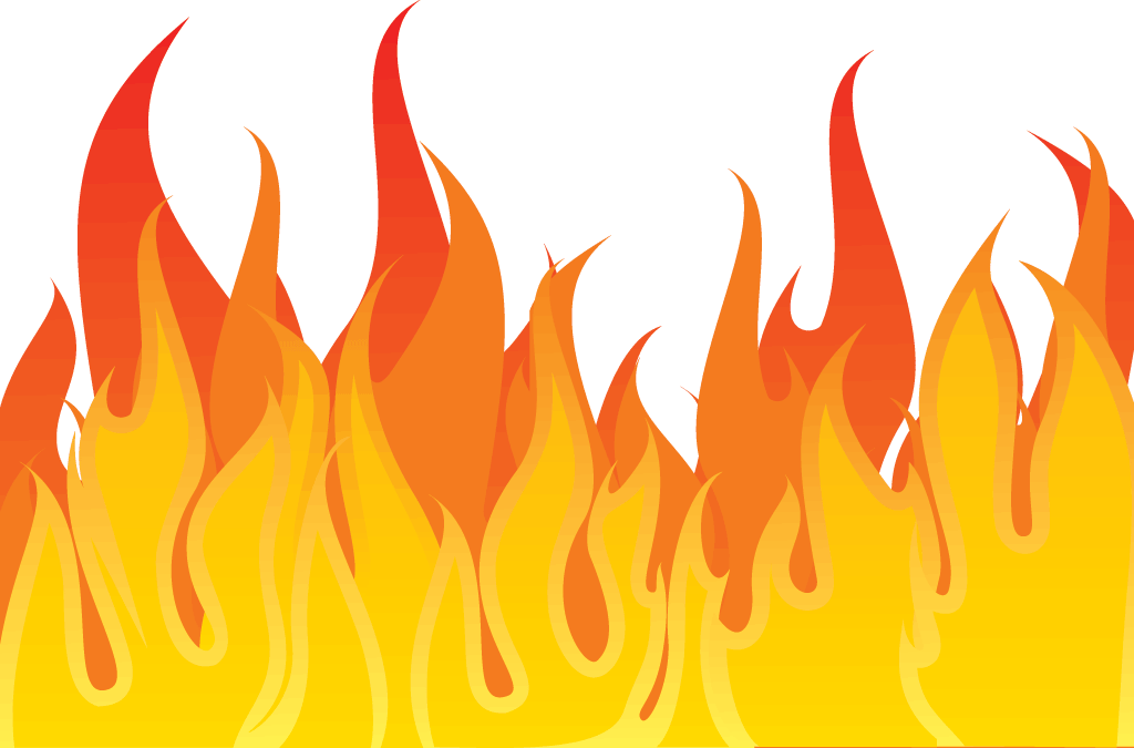 Cartoon Picture Of Fire Flames