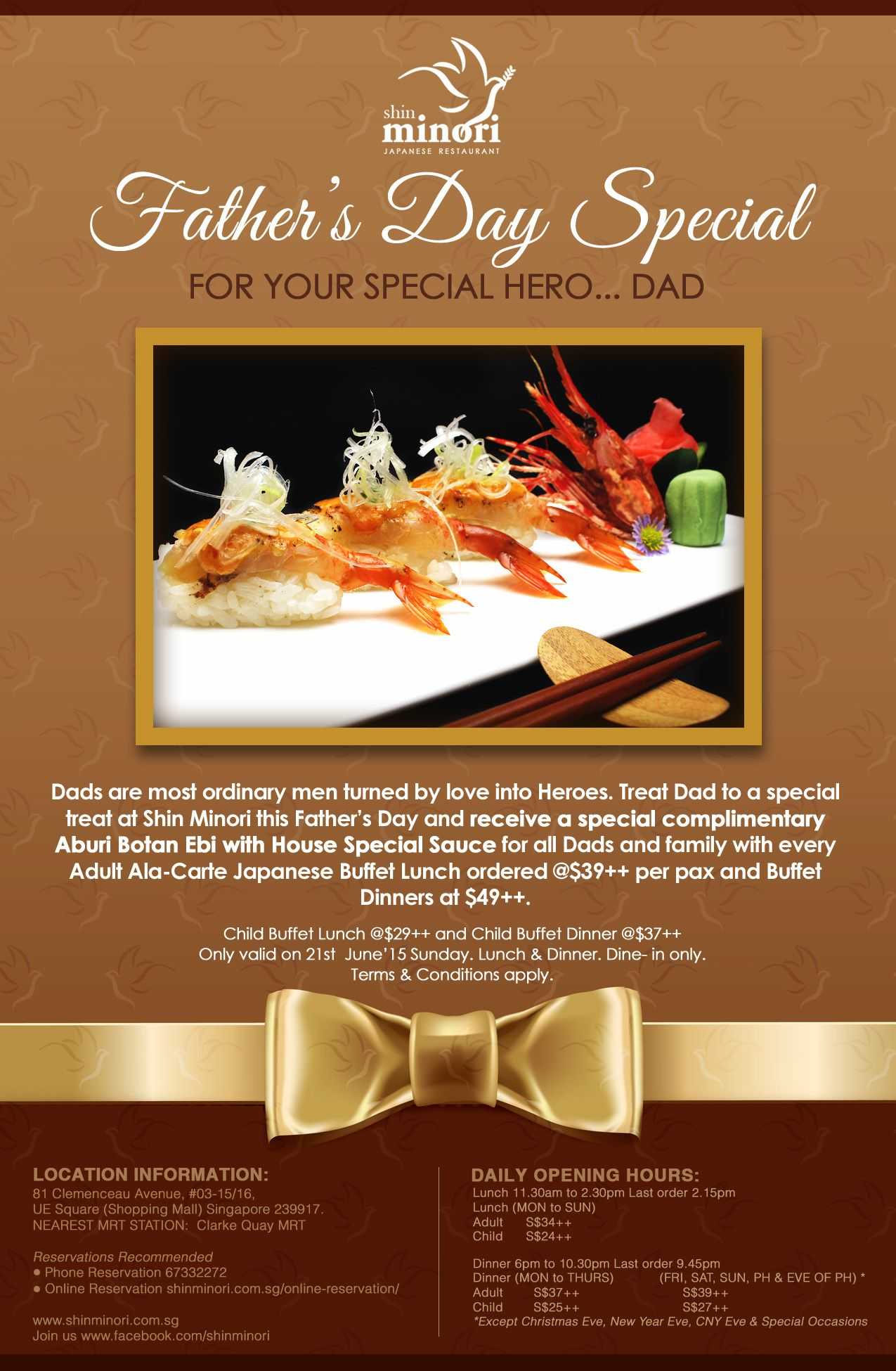 For Your Special Hero Dad Promotion To Celebrate Father S