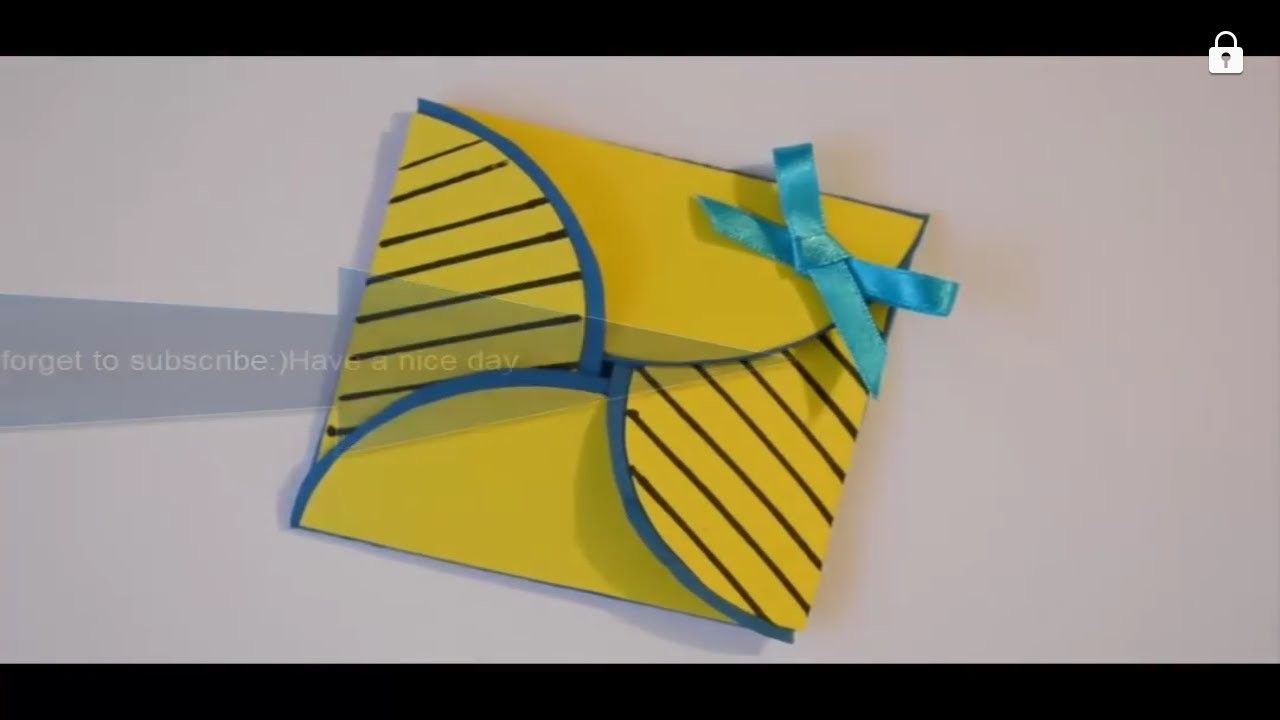How To Make Simply And Easy Origami Greeting Cards Macking Diy Paper Crafts Ideas