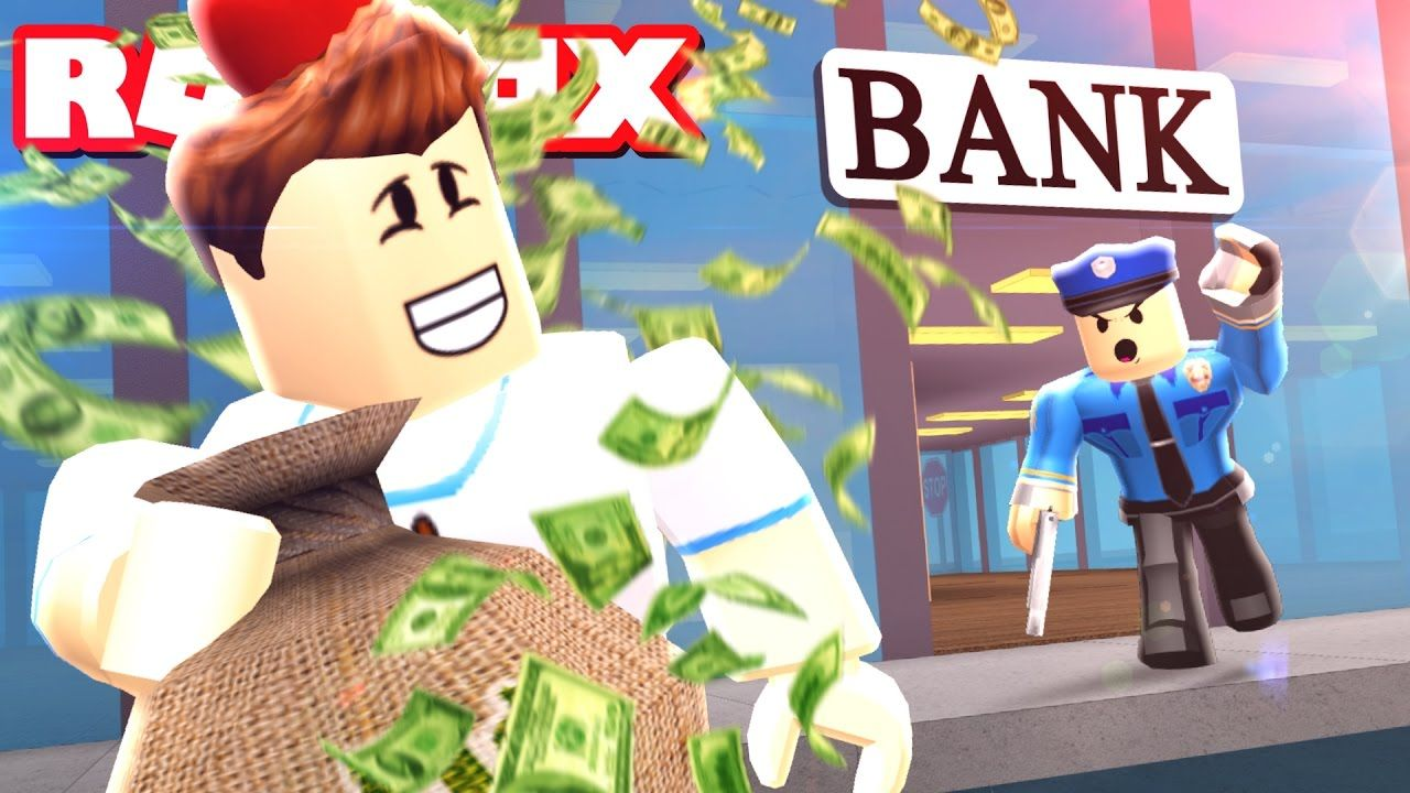 I Got Away With Robbing A Bank Roblox Jailbreak Roleplay