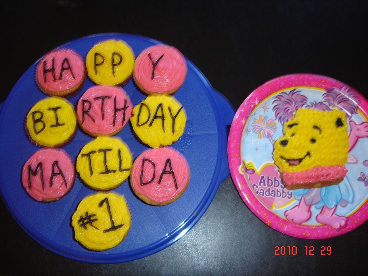 Tillys 1st Birthday Cake And Cupcakes The Little Winnie The Pooh