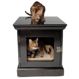 Cats Enclosed Mr. Herzher's Decorative Cat Pod Cat