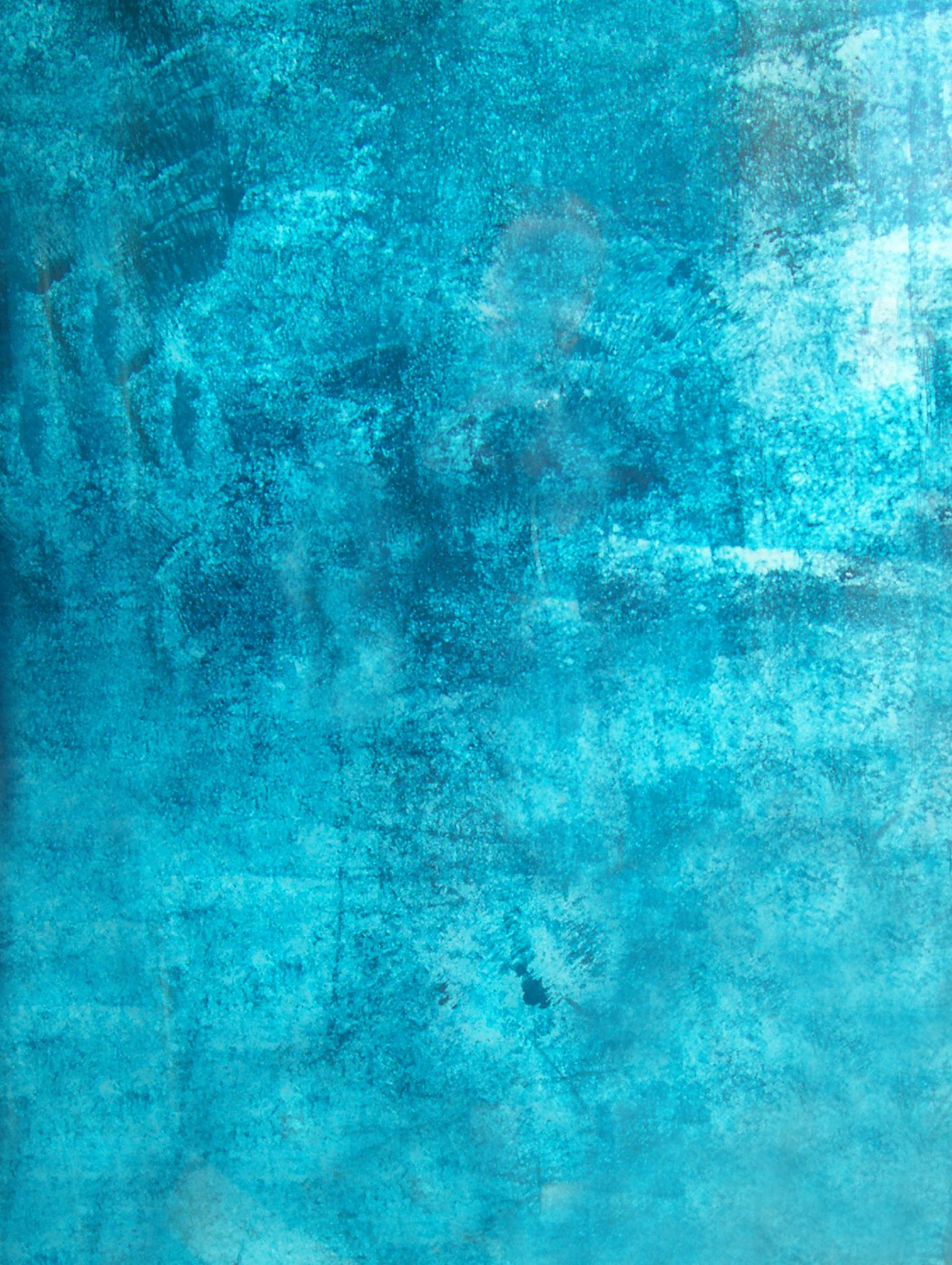 Turquoise texturas pinterest texture walls for Plain blue wallpaper for walls