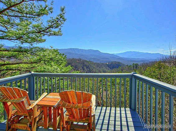 Angels View Cabin Rental near Pigeon Forge | #3 Bedroom Cabin for Rent