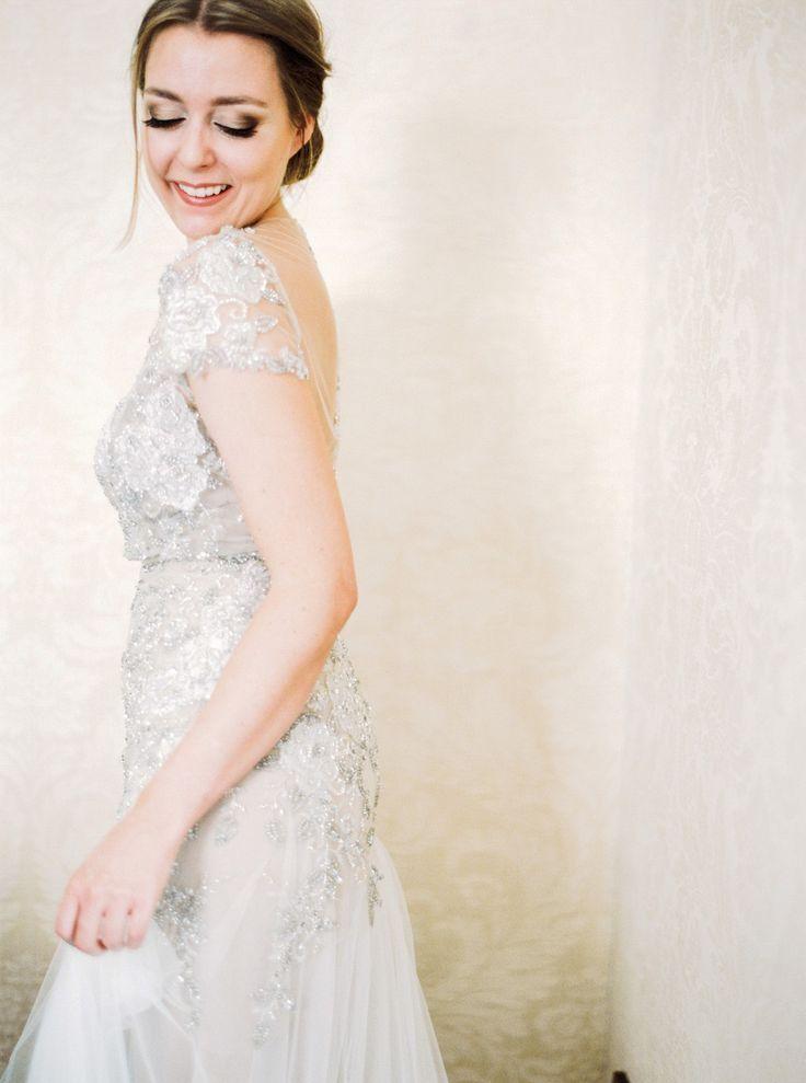 Glamorous Zurich Wedding in an Inbal Dror Gown by Peaches & Mint   Wedding Sparrow