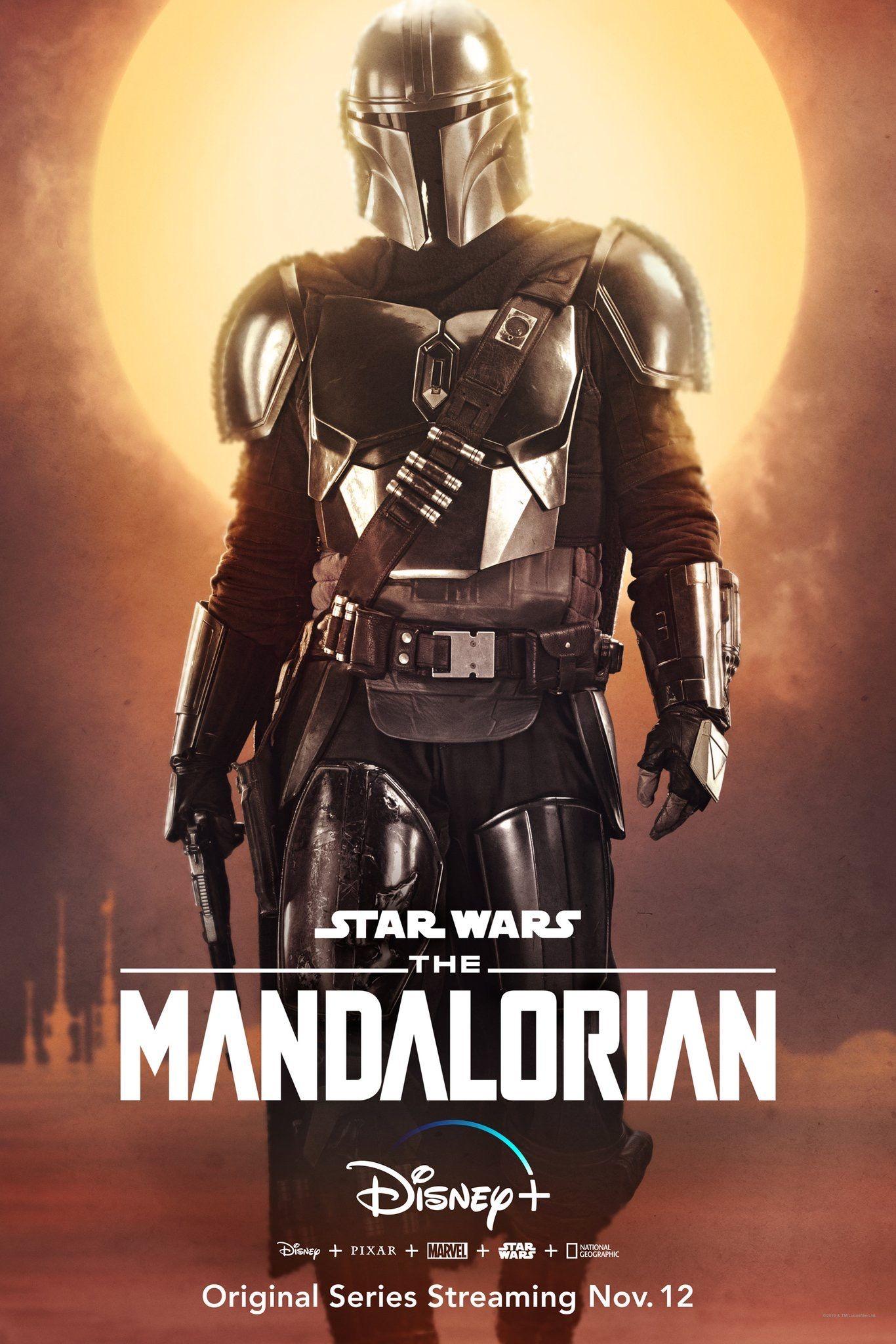 "New Art Print 2019 Promo Poster Disney/'s New TV Series /""The Mandalorian/"""