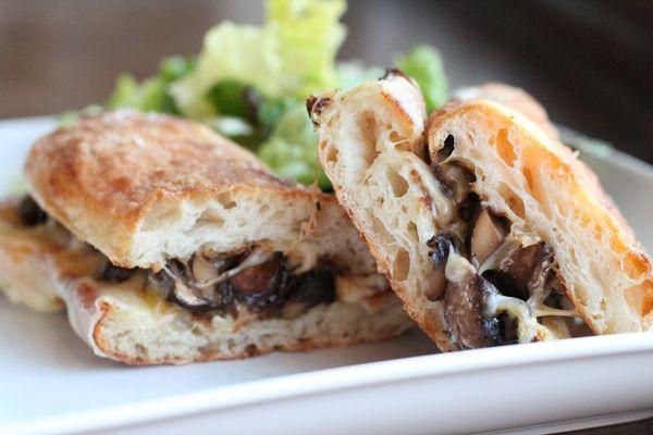Caramelized Mushroom and Onion Melt Sandwich Recipe