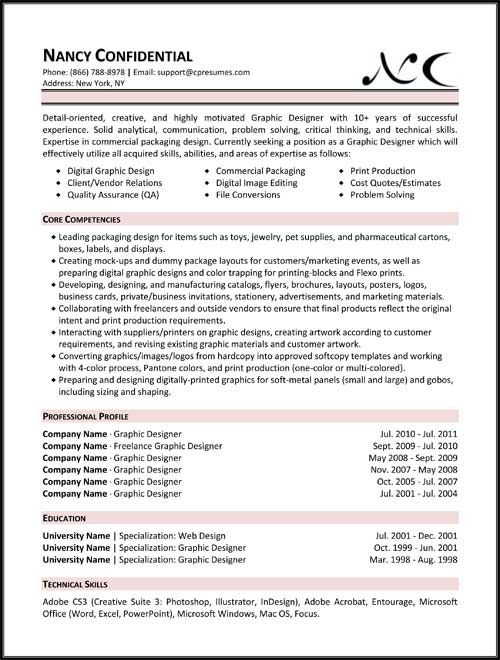 Functional Resume Format | Projects to Try | Pinterest