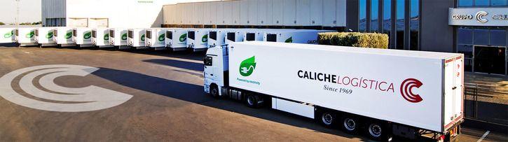 Logística Grupo CALICHE · Su Empresa de Transportes Internacionales