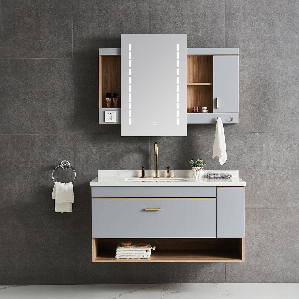 34+ Bathroom vanity cabinet with mirror inspiration