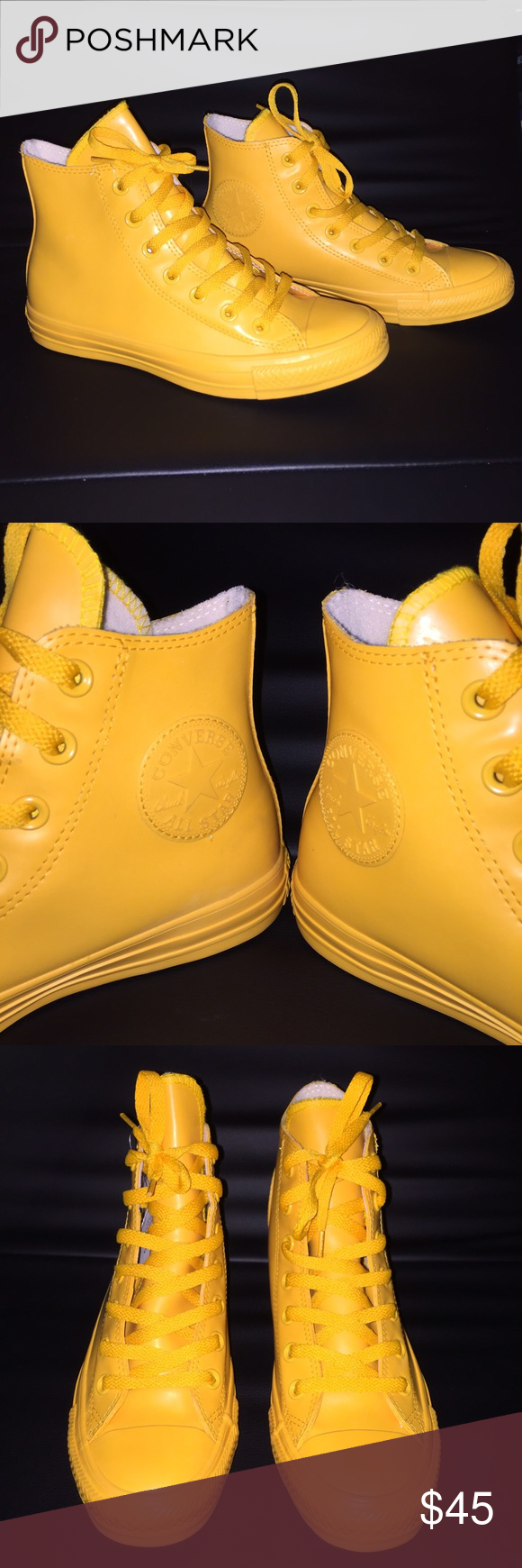 f27b9fd31f5 Converse All Stars Wild Honey Rubber High Tops New without tags or box.  These Converse
