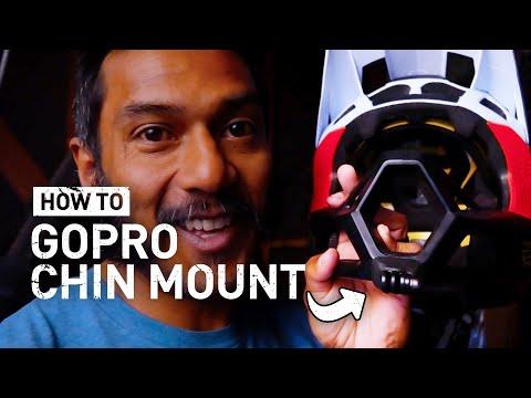 Gopro Mtb Chin Mount No Zip Ties The Best Way To Mount A Gopro