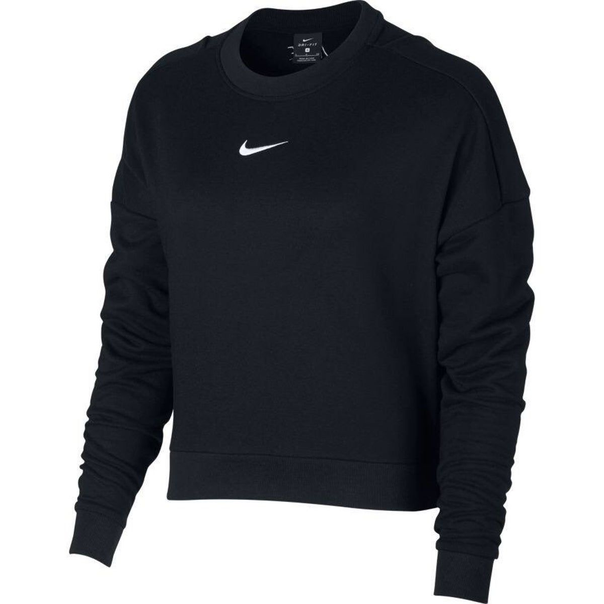 Nike Cropped Sweatshirt Training Tops Sweatshirts Nike Cropped Sweatshirt [ 1200 x 1200 Pixel ]