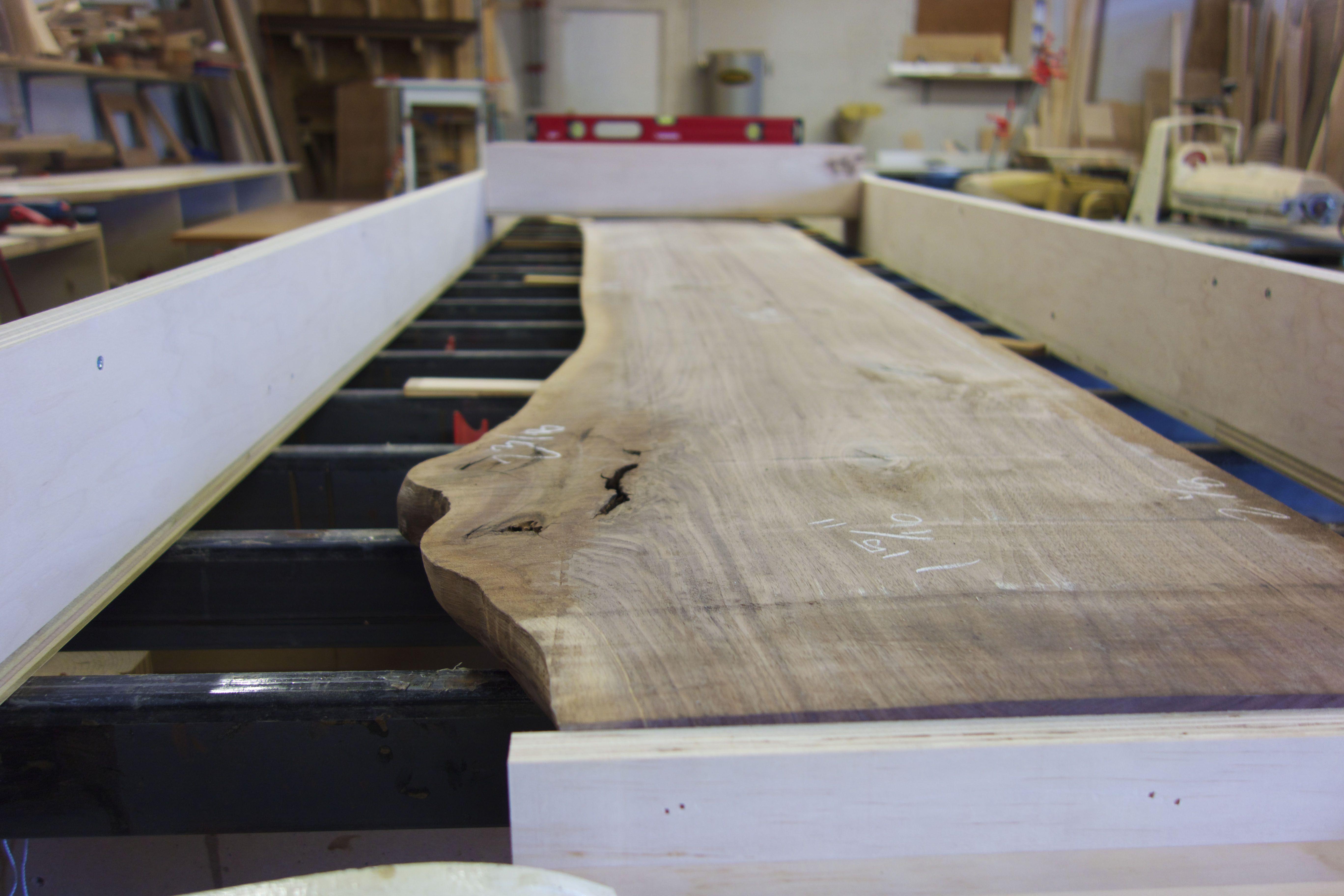 #furniture #tampa #florida #design #built #woodworking #interiordesign # Custom #handmade #slabtable #walnut #diningtable