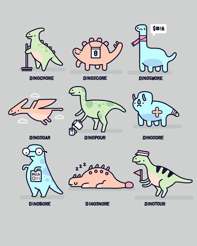 Pin by Nicole M on in 2020 | Dino drawing, Birthday jokes ...