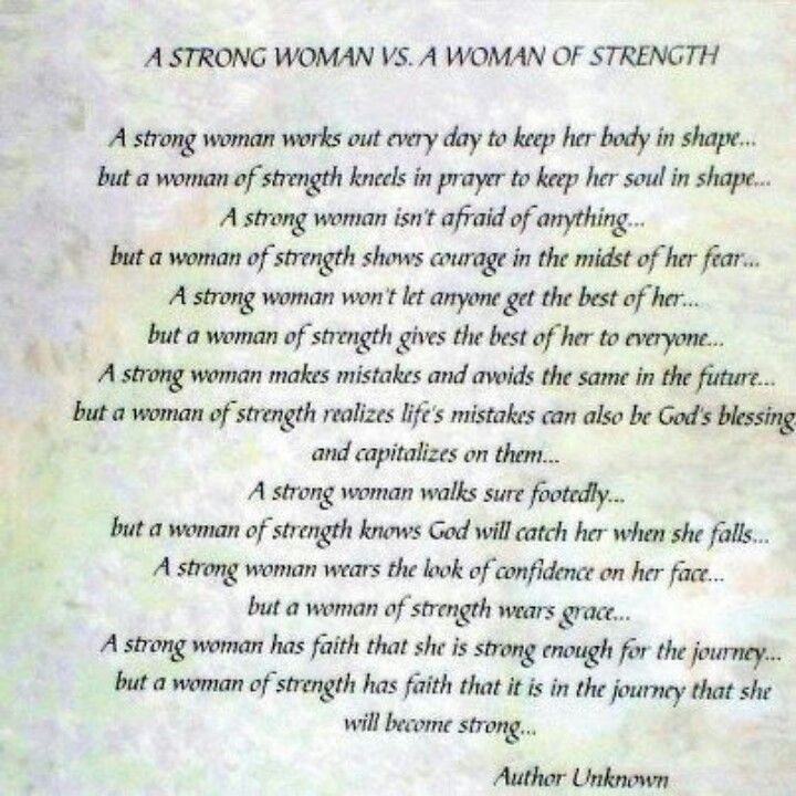 A Strong Woman Vs Strength Of A Woman Sayings Pinterest