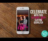 Custom 21st Birthday Celebration Snapchat by EmilyPaigeDesigns23