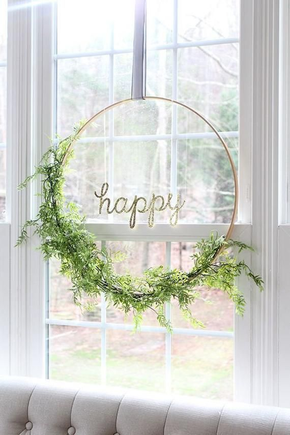 Photo of Gold metal 25″ hoops for Wedding Hanging Sign Floral Hoop Hanging Wedding & Party Decor/ Wedding decor/ Engagement decor/ hoops with flowers