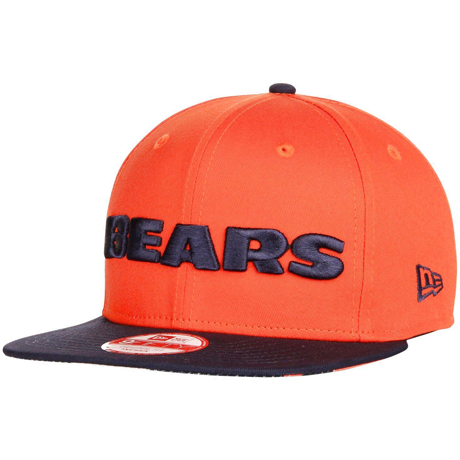 another chance ca372 6e5ea ... cheap new zealand chicago bears new era flip up team redux 9fifty  snapback adjustable hat orange