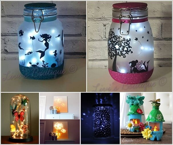 Night Lights Are Great For So Many Reasons As They Can Prove Helpful So That You Don 39 T Stumble On Something Cool Diy Projects Diy Craft Projects Cool Diy