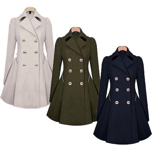 Plaszcz Damski Trencz Wiosenny Granatow Modny M 38 5133136889 Oficjalne Archiwum Allegro Trench Coats Women Trench Coats Women Long Coats Jackets Women