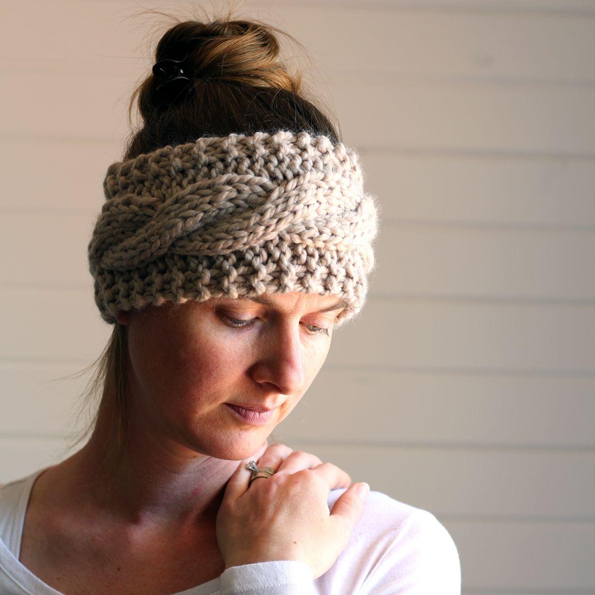 FRIENDSHIP : FREE Headband Knitting Pattern by Brome Fields | Knit ...