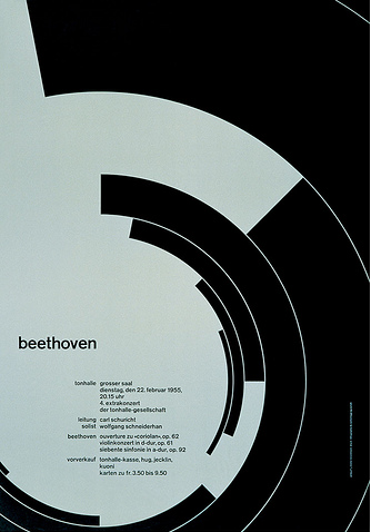famous swiss style graphic design poster by josef muller-brockmann