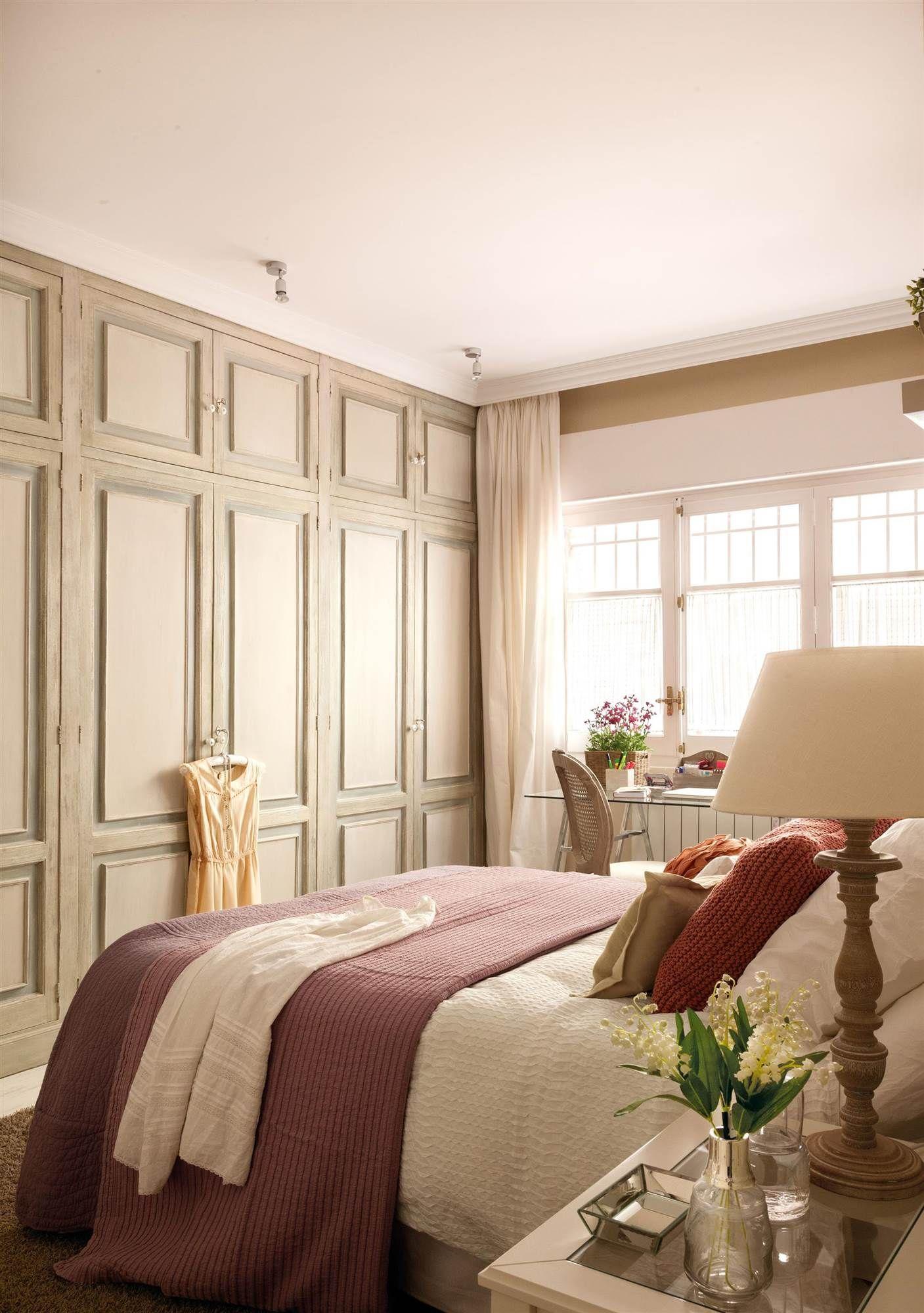 Empotrado con un toque vintage dormitorio armarios de - Decoracion armarios dormitorios ...