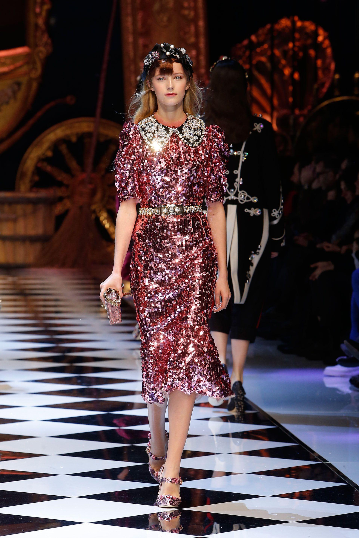 DGFabulousFantasy: Dolce Gabbana Fall 2019 Tells Its Own Fairy Story