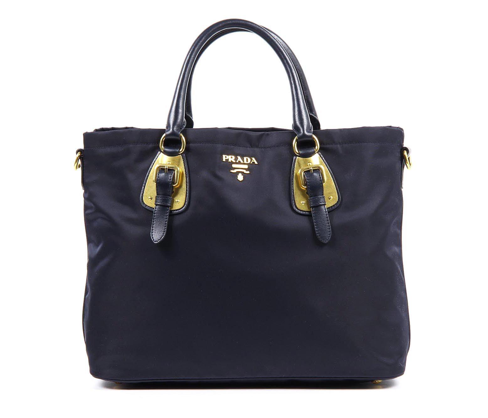 ... bag black 87898 09f8d discount prada tote handbag bleu tessuto soft calf  details external composition nyoln leather measures width height ... add5854aad001