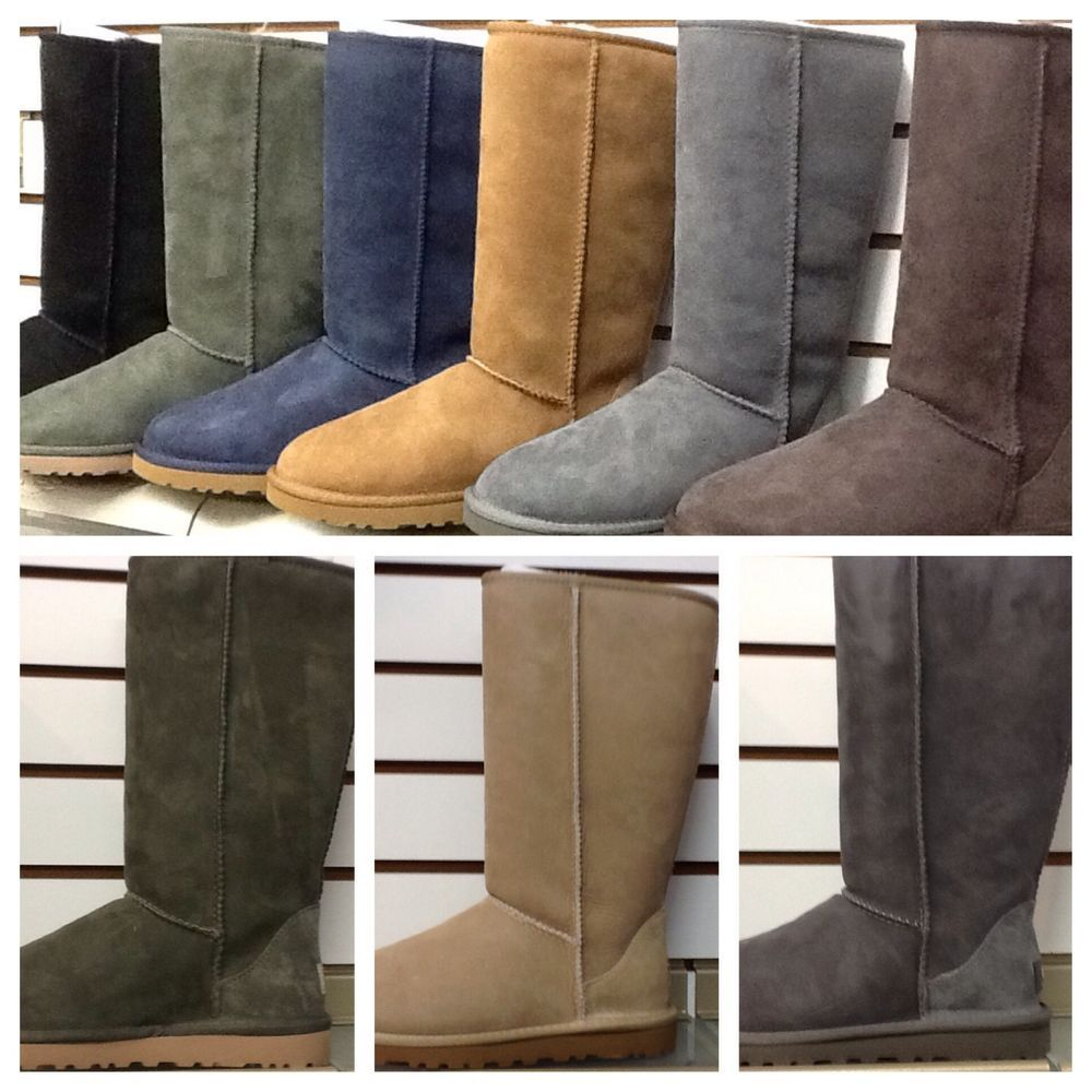 UGG womens CLASSIC TALL new colors comfort authentic all sizes 6 -10 #UGG #Comfort