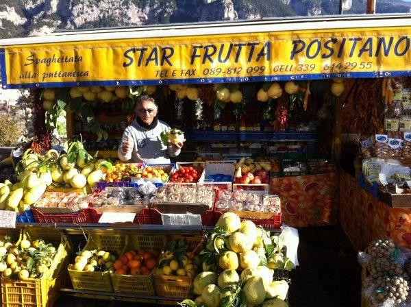 Reisesouvenirs (1) Eine CEDRO aus Positano - Früchteparadies Amalfiküste - Foto © Welz
