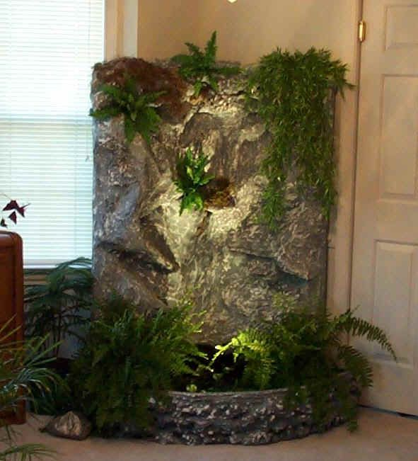 Creekside Corner Waterfall Indoor Waterfall Indoor Water Garden Indoor Water Fountains
