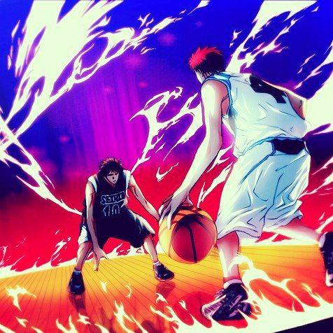 Kagami Vs Akashi In Zone Anime Manga Otaku Akashiseijuro Kurokonobasket Comics Cosplay F4f Wallpaper Art Nba Picsart Like4like